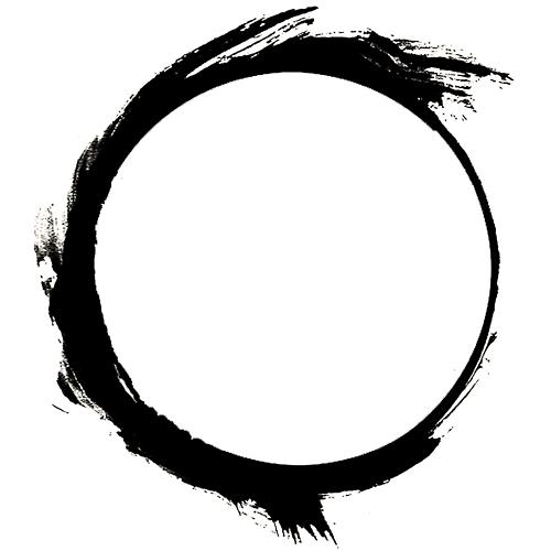Zen symbol circle tattoo photo 3 fli ink ideas for Circular symbols tattoos