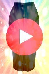 Joni Skirt in Black 50s Joni Skirt in Black  50s Joni Skirt in Black   Zwarte Kokerrok met Structuur Bunny 50s Pencil Skirt 120 20 14677 20150218 0002W Más Rok ela...