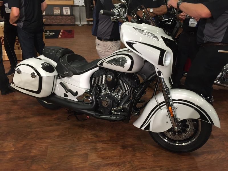 2017 Indian Chieftain Stock