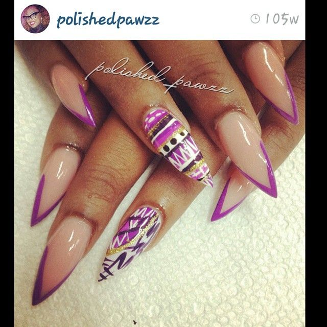 Instagram Photo By Ms Pawzz Nov 21 2014 At 346 Pm Nails