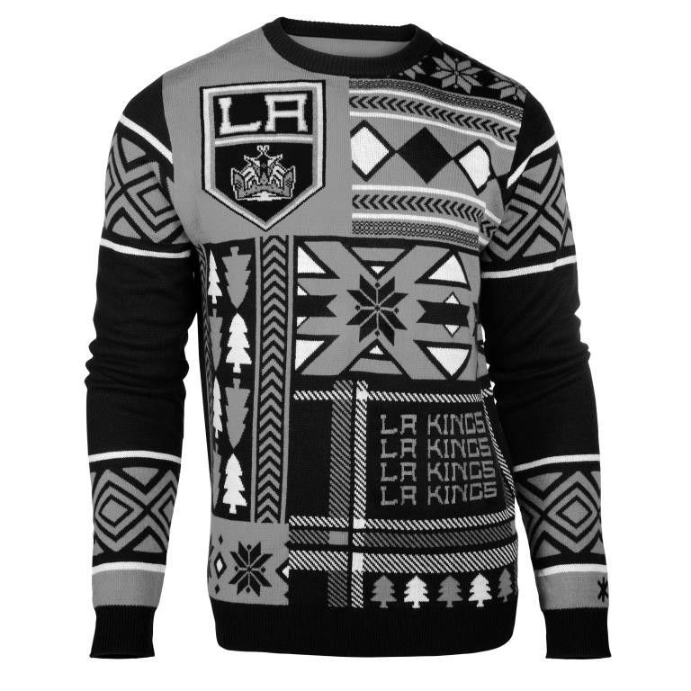 Los Angeles Kings Patches Ugly Crew Neck Sweater