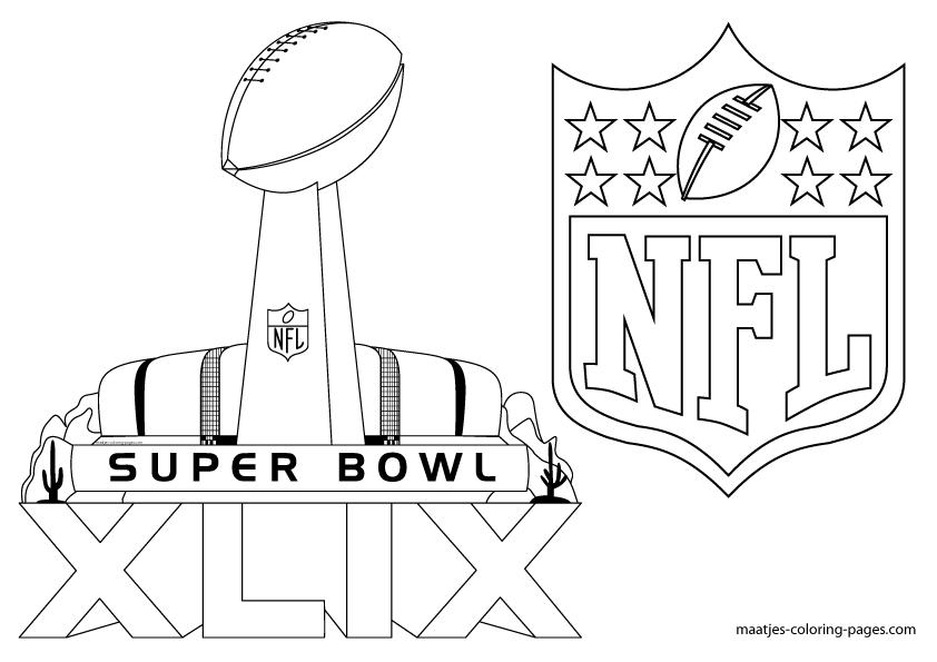 Free Printable Super Bowl Xlix Coloring Pages Super Bowl Super Bowl Xlix Coloring Pages