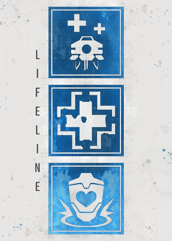 Apex Legends Character Emblems Displate Posters