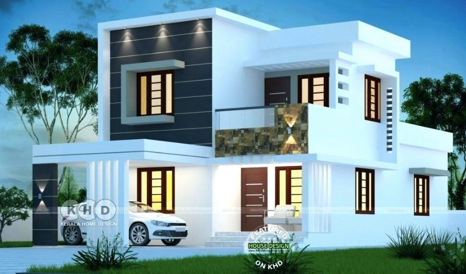 Delightful Residential Villas Facade Ideas Amazing Architecture Magazine Kerala House Design Duplex House Design Model House Plan