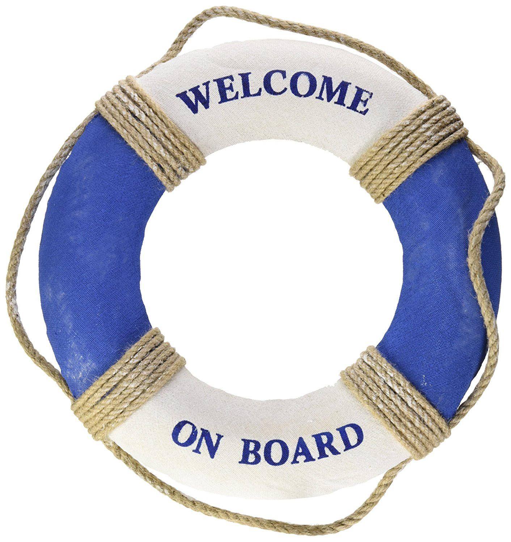 nautical life ring decoration