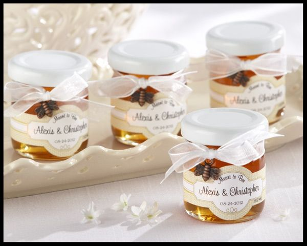 Meant To Bee Wedding Honey Jar Favors These Mini