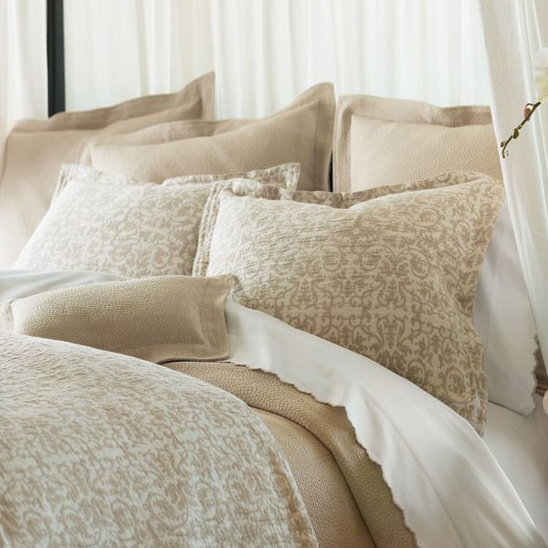 Find this Pin and more on Home Decor. tan bedding   Francesca Bedding by Peacock Alley Bedding
