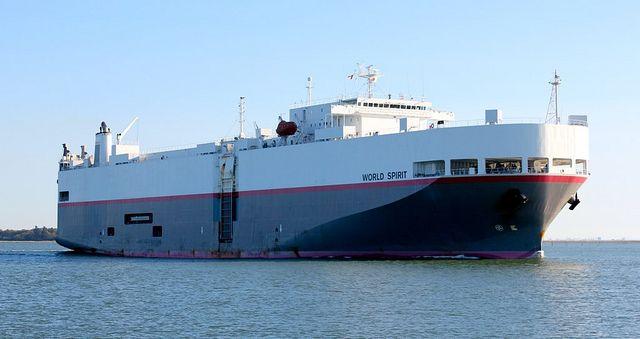 World Spirit Car Carrier Ship | All Things Car Haulers