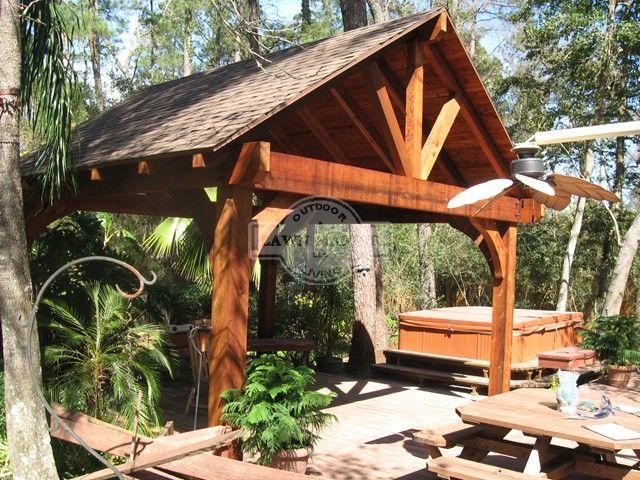 Lawn Master Outdoor Living : Pergolas - Arbors - Cedar Pergola  Lawn Master  Places ...