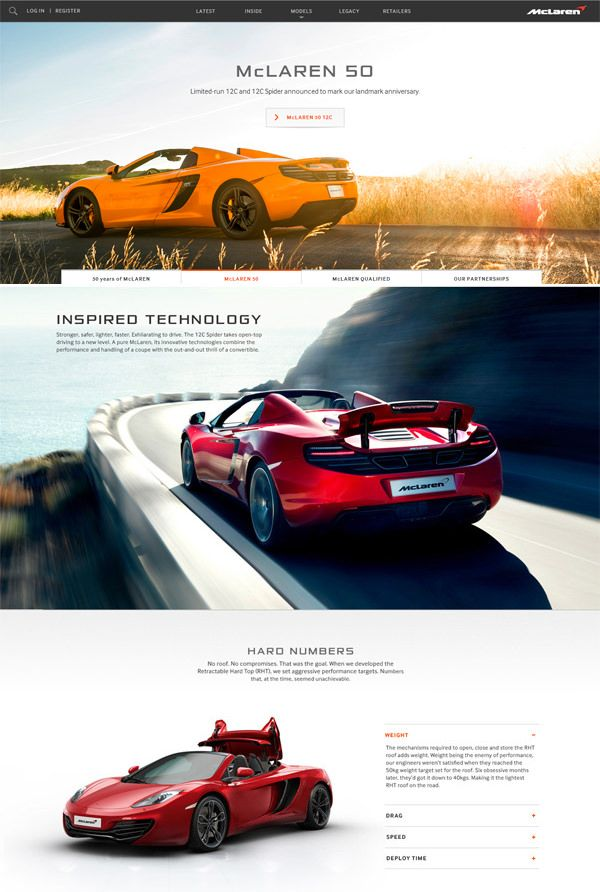 20 Automotive Website Designs For Your Inspiration Design Design