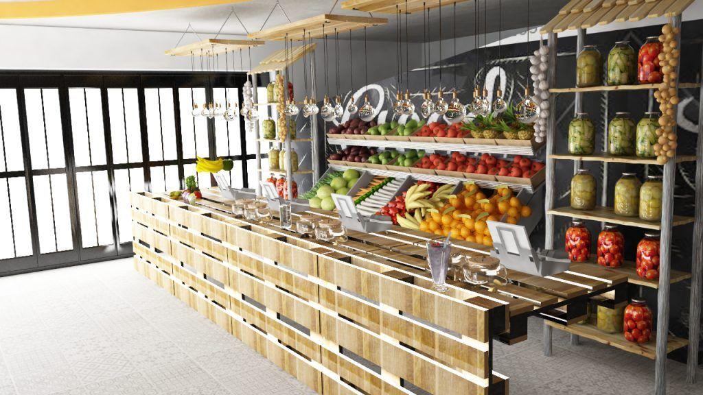 How to go entrepreneurial green juice bar design ideas