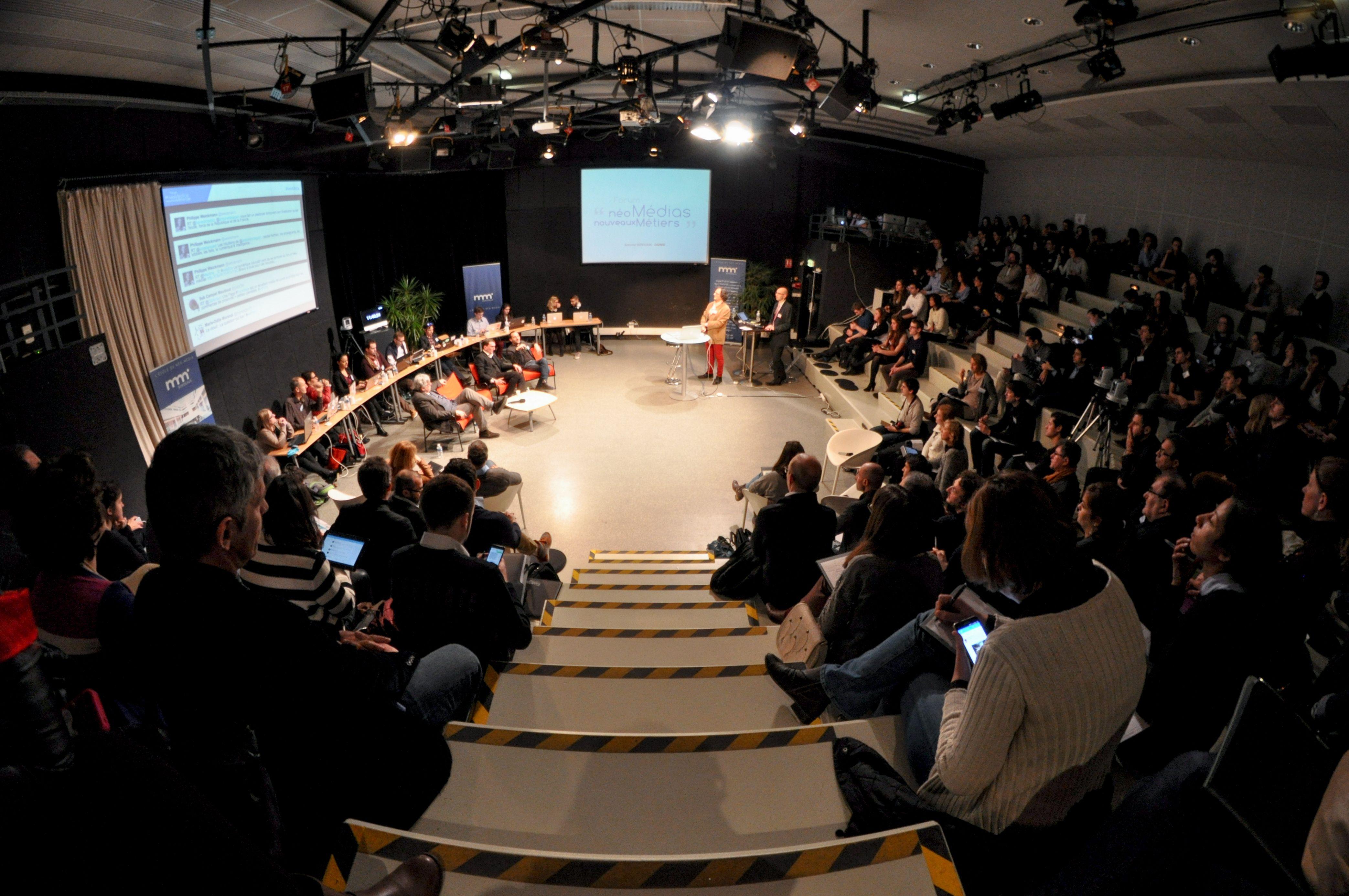 """8e édition du Forum """"Néo-Médias, Nouveaux Métiers"""" du 13 février 2015 #webBdx"""