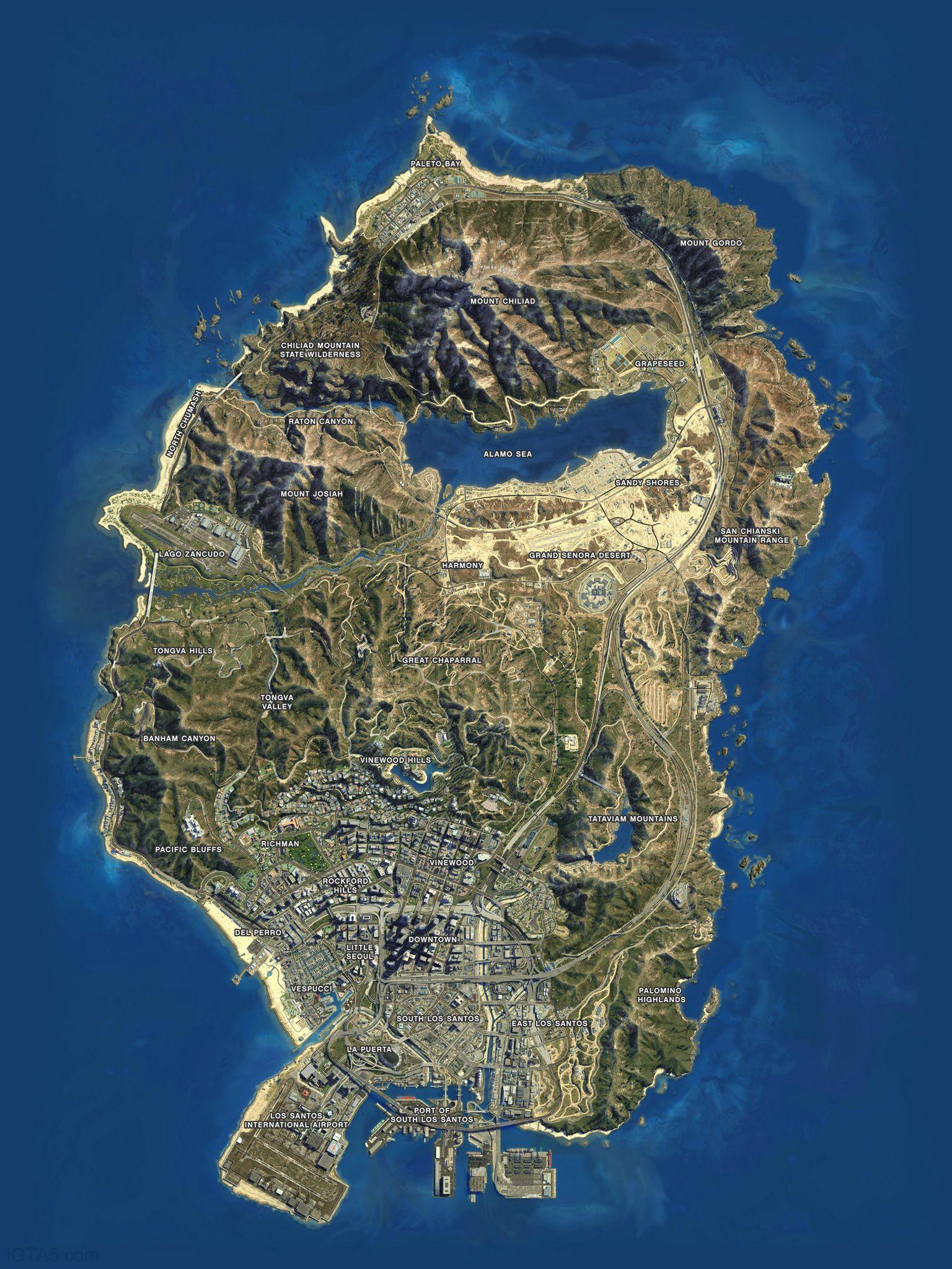 u201c This impressively detailed false aerial map