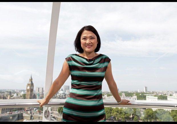 Zhang Xin Pan Shiyi Women Short Sleeve Dresses Dress For Success