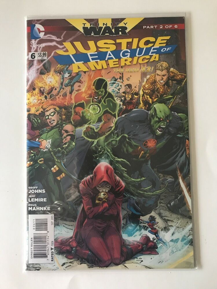 Photo of Justice League of America #6, Trinity War, DC Comics, Sep 2013 New