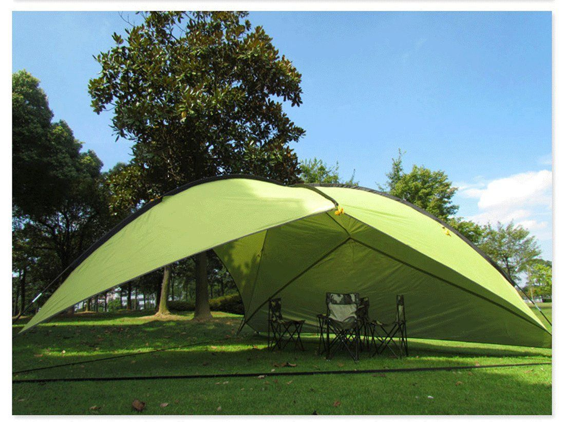 Amazon Oxking Outdoor 5 8 People Canopy Large Triangular Beach Shelter POP