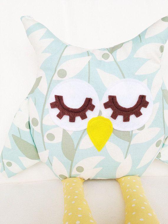 Owl Pillow Sewing Pattern - Owl Pattern - Owl Pillow Toy - PDF ...