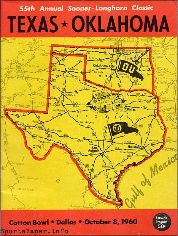 Pin by Rick on Vintage Programs Texas longhorns football