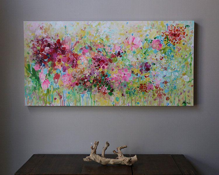 Cuadros pintura acrilica moderna trendy cuadros pintura for Pintura acrilica moderna