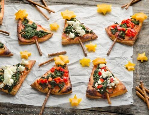 pizza weihnachtsb ume nat rlich veganisieren food. Black Bedroom Furniture Sets. Home Design Ideas