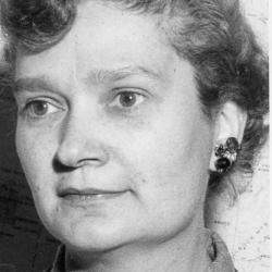 94. Mildred Stratton Wilson (1909-1973), American zoologist, Guggenheim fellow