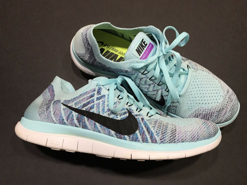 pretty nice f020a 376bb 5. Nike FREE 4.0 FLYKNIT Womens Running Shoes Barefoot Ride ...