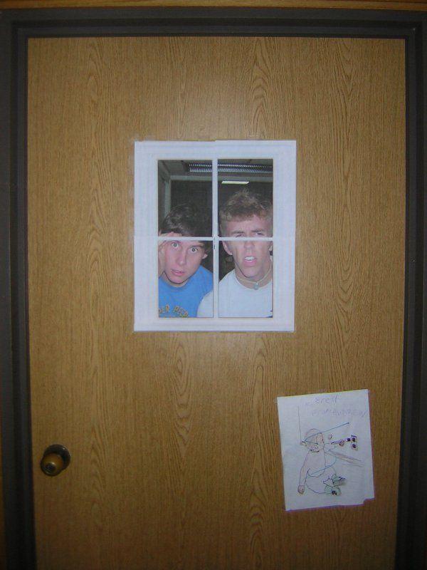 Pin By Anna Howard On Just Funny Dorm Door Dorm Door Decorations Dorm Room Doors