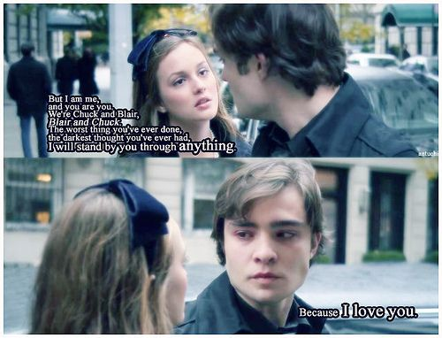 BEST CHUCK BASS AND BLAIR WALDORF LINES Topic - TV Fanatic
