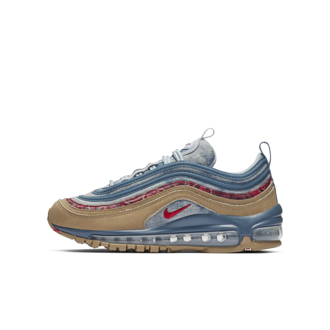 more photos 0b704 5c176 Nike Air Max 97 Big Kids  Shoe Size 4.5Y (Parachute Beige)