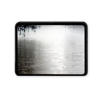 Rain On The Flint Rectangular Hitch Cover