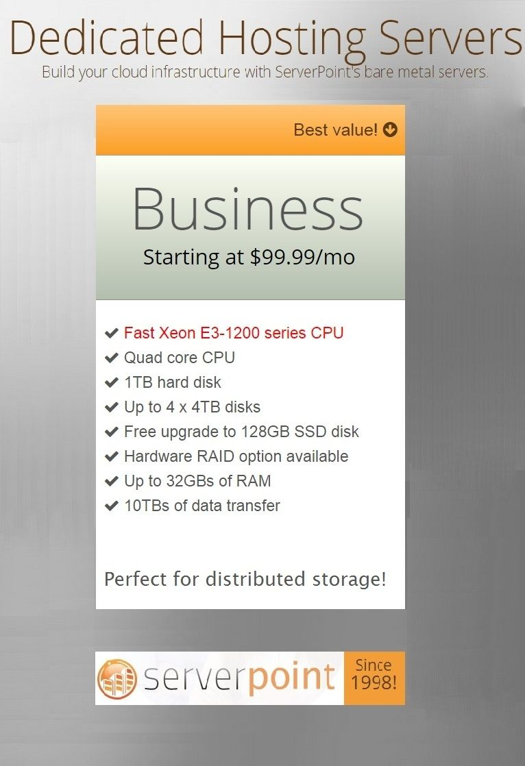 Dedicated Hosting Servers Build Your Cloud Infrastructure With Serverpoint S Bare Metal Servers Cloud Infrastructure Social Media Infographic Dedication