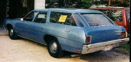 1972 Chevy Station Wagon The Car I Learned To Drive In My Dad