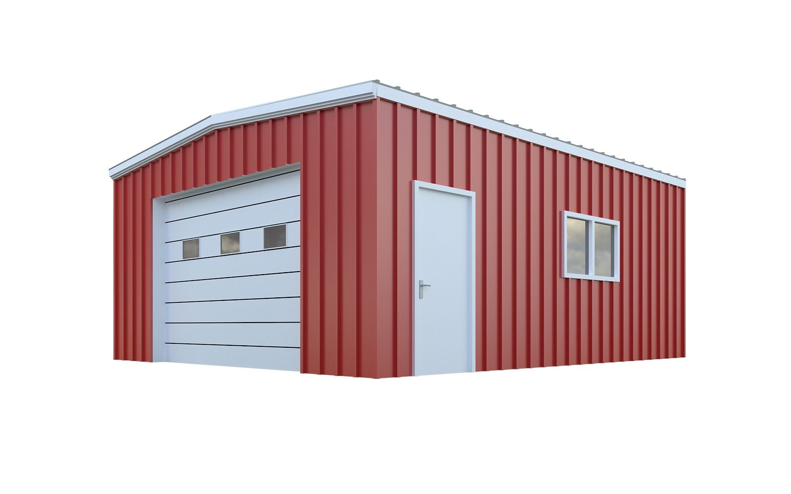 20x24 Garage Package Plans General Steel Shop Metal Building Kits Metal Building Homes Metal Garage Buildings