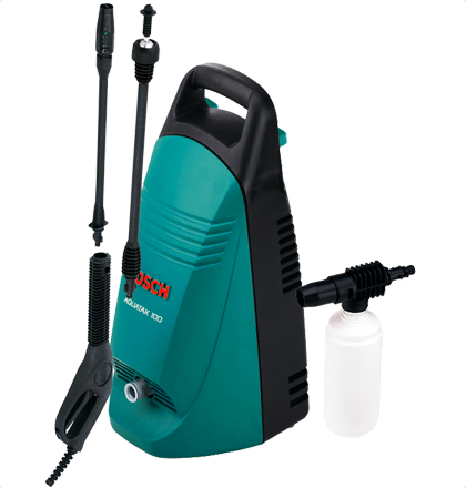Bosch Aquatak 100 Euro High Pressure Washer Lightweight For Easy And Convenient Handling Best Nozzle Performance Due To Hig Pressure Washer High Pressure Bosch