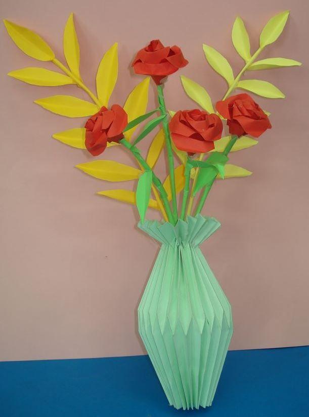 Kwiaty Z Papieru Ikebana Prace Plastyczne Dariusz Zolynski Flowers Paper Paper Flower Prace Z Papieru Paper Flowers Paper Flower Crafts Paper Art
