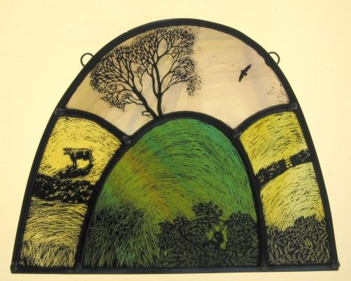 Tamsin Abbott With Images Stained Glass Paint Glass Painting