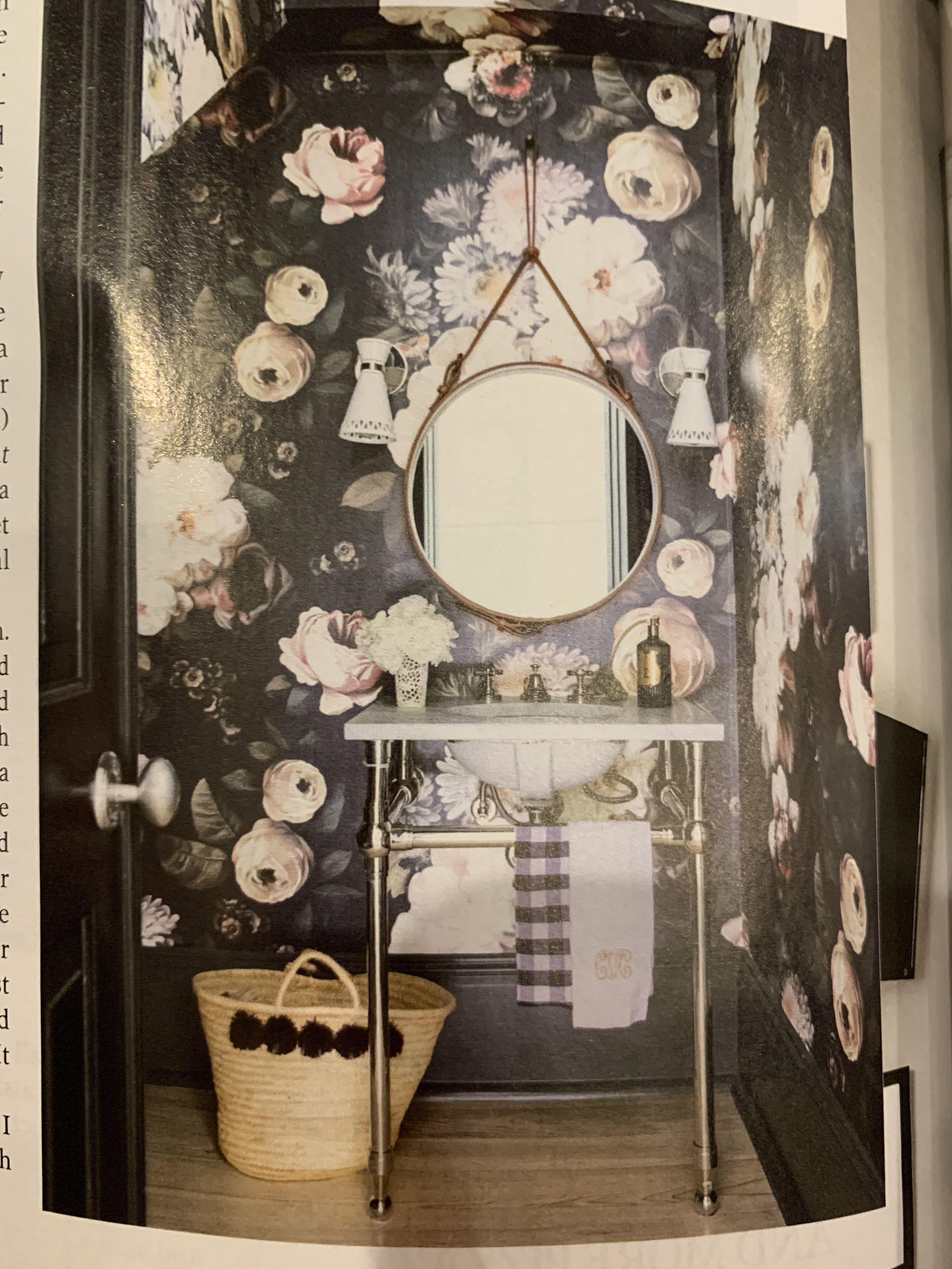 Powder Room By Amy Kartheiser Design: Pin By Amy Riley On BATHROOM Inspiration
