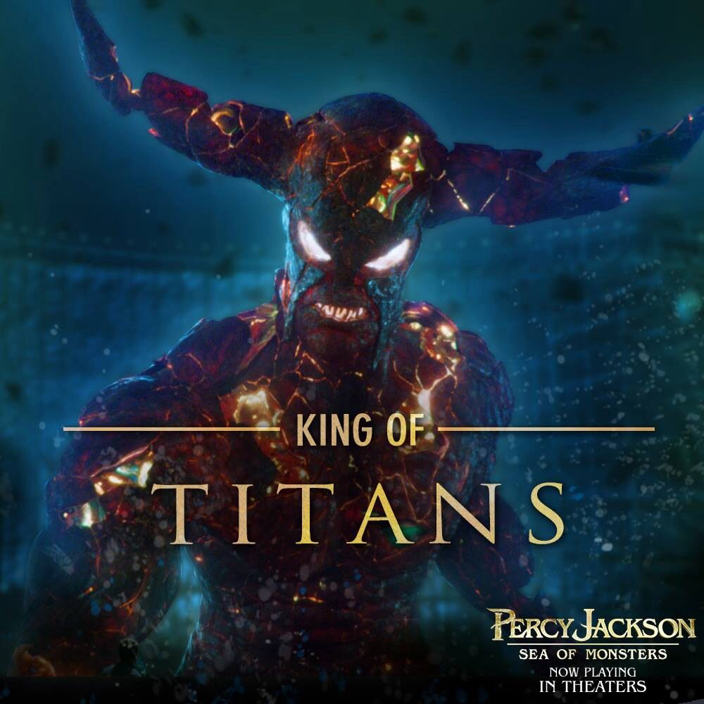 King of titans | Percy Jackson