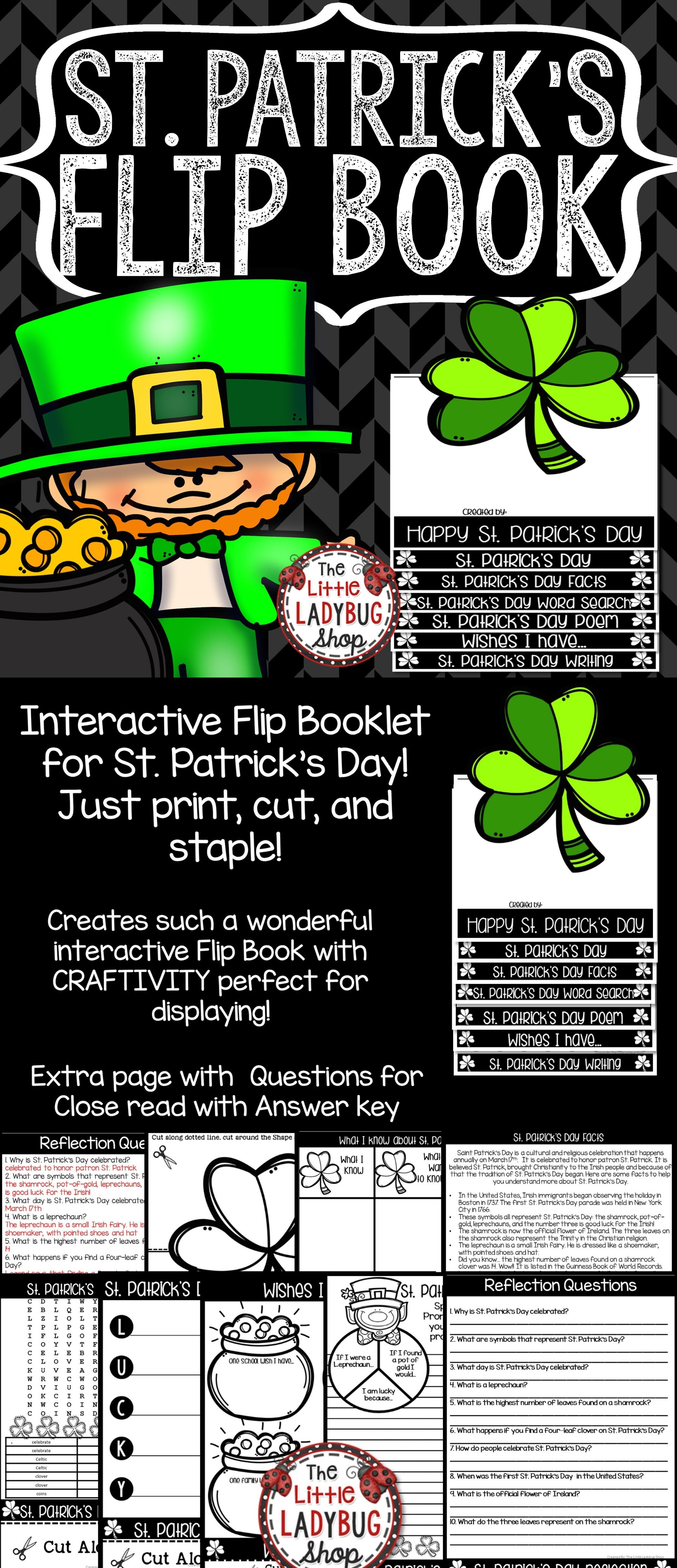 St Patrick S Day Writing Activities Amp March Writing