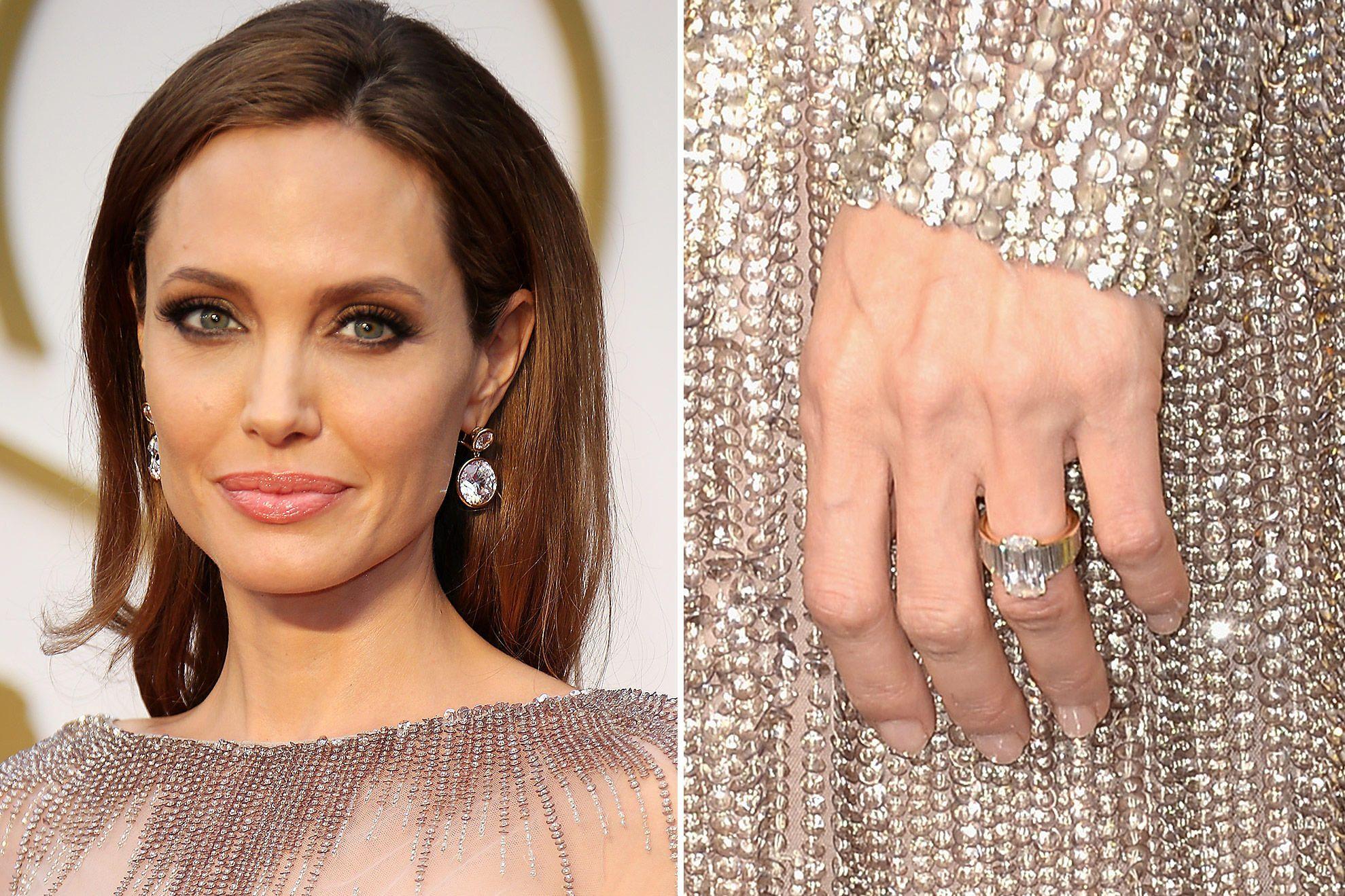 It Took Brad Pitt A Year To Design Angelina Jolie's 16carat Diamond Ring,