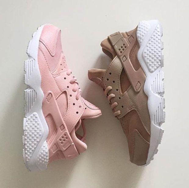 Pink/Beige Huaraches(Women) | Sneakers