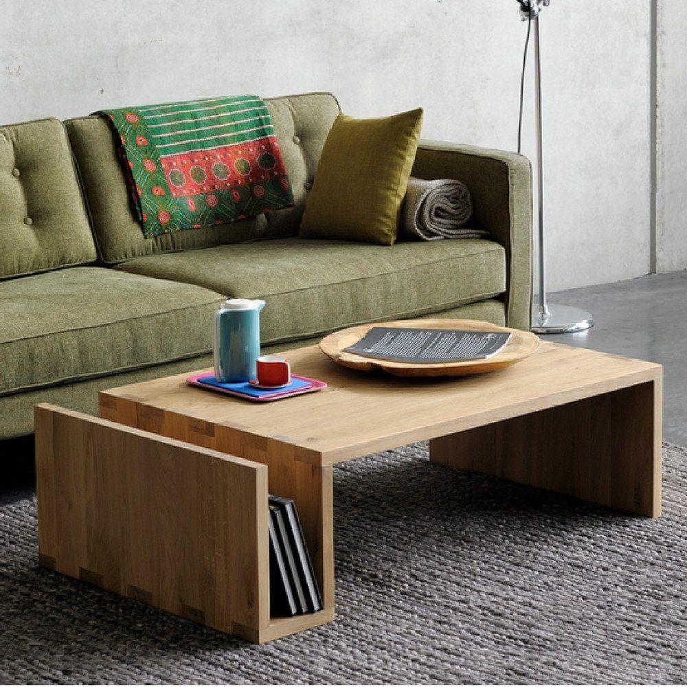 Oak Naomi Coffee Table With The N101 Sofa By Ethnicraft Minimalist Furniture Design Retro Coffee Tables Minimalist Furniture