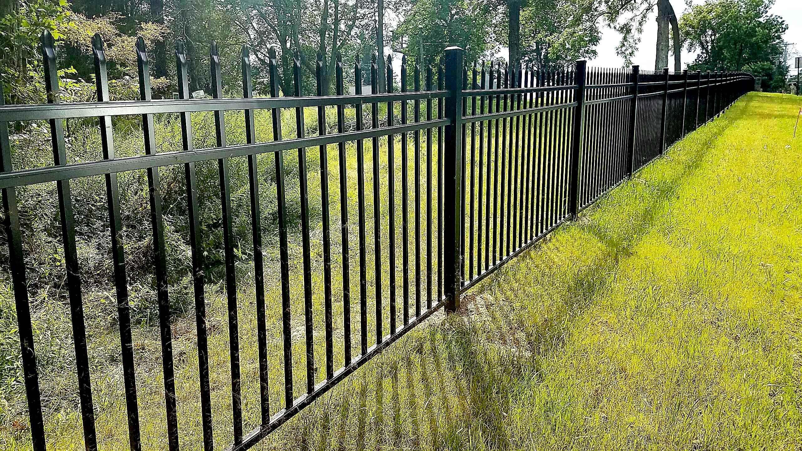 3 Rail Belmont Style Aluminum Fencing Aluminum Fencing Aluminum