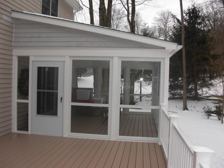 Choosing Glass Enclosed Porches | Tripwd. | Porch design ... on Closed Patio Design id=58643