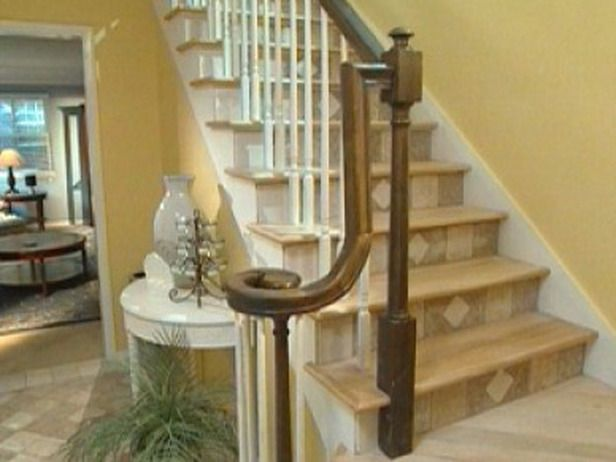 Awesome Tiling A Foyer: How To Tile Stair Risers : How To : DIY Network