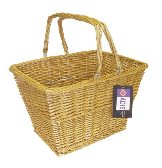 A 16inch Wicker Basket With Handle