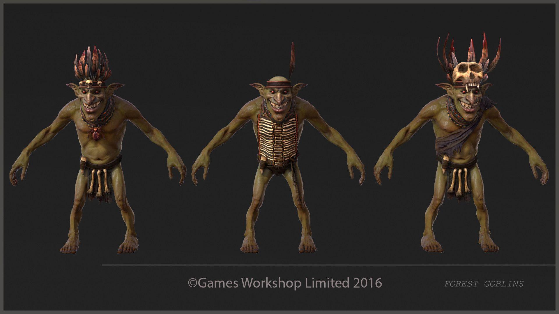 ArtStation - Total War Warhammer Forest Goblins, Palomita A Punto Efe