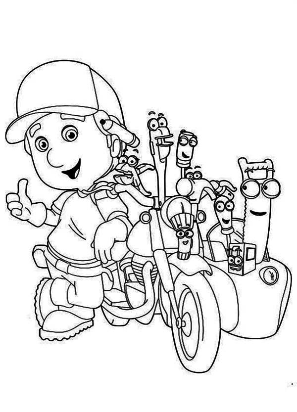 handy manny coloring pages e - photo#8