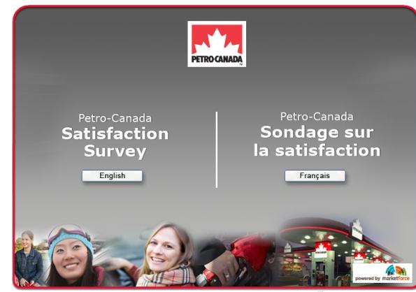 Petro-Canada Satisfaction Survey, www petro-canada ca/hero