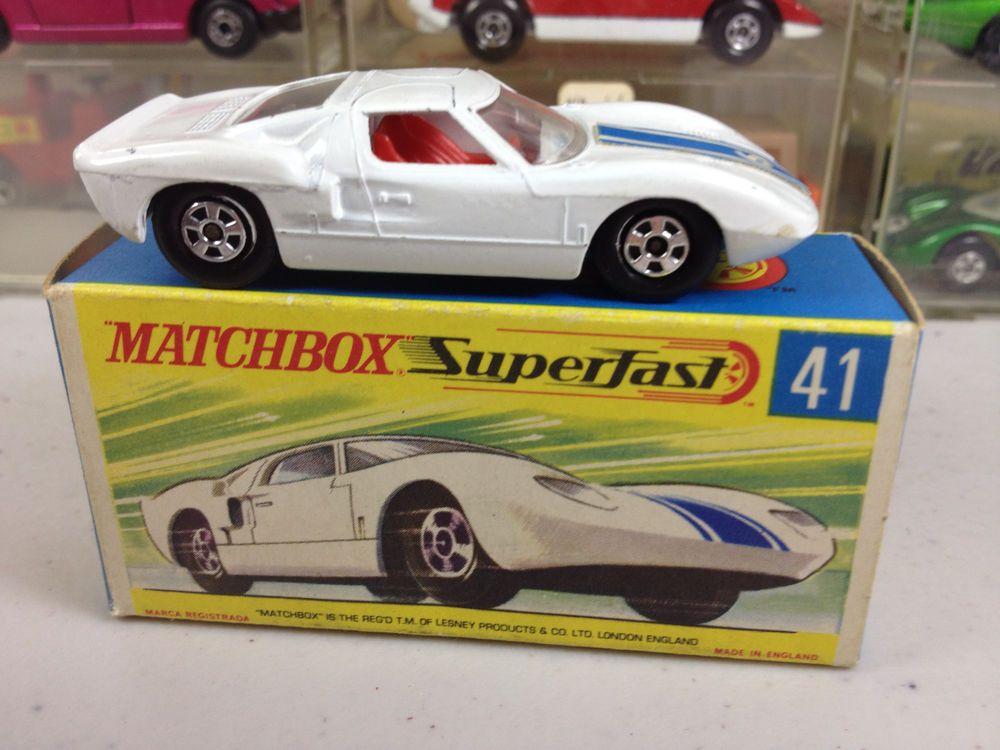 41 Ford G In Lesney tVintage Superfast Mb Matchbox G Box Original 5A3jL4R